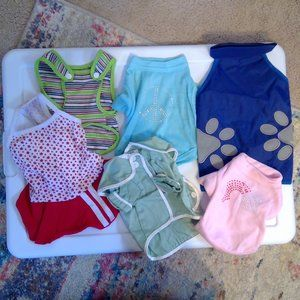 XS dog clothes bundle